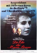The Marriage of Maria Braun (1979)